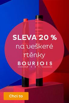 -20 % na rtěnky Bourjouis