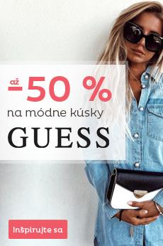 Guess so zľavou až 50 %