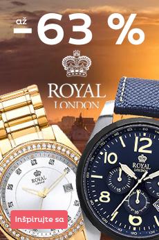 Akcia na hodinky Royal London