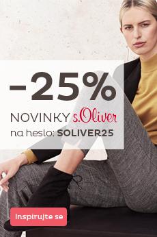 Novinky s.Oliver se slevou 25 %