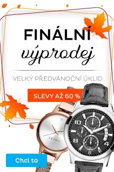 Výprodej hodinek