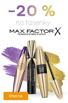 -20 % řasenky Max Factor