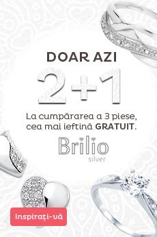 Brilio Silver 2 + 1 gratuit