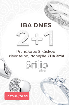 Brilio Silver 2 + 1 zdarma