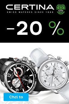 Certina sleva 20 %
