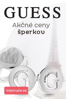 Akčné ceny šperkov Guess