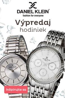 Daniel Klein - vypredaj hodiniek