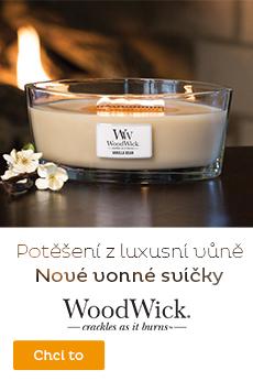 Vonné svíčky WoodWick