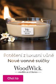 Svíčky WoodWick - novinka