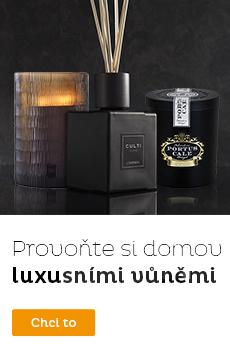 Luxusní svíčky a difuzéry