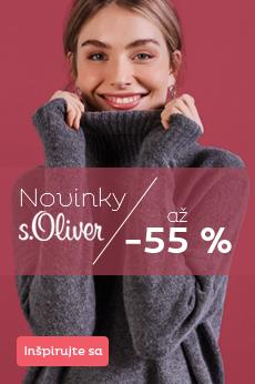 S. Oliver so zľavou až 55 %