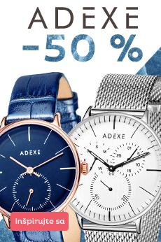 Adexe hodinky so zľavou 50 %