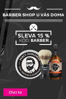 -15 % na Barber shop