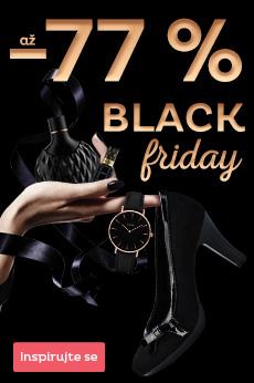 Black Friday - slevy až 77 %
