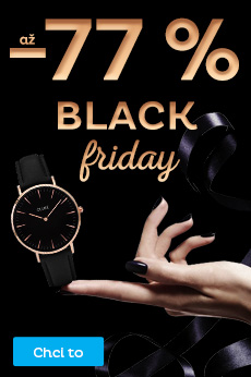 BLACK FRIDAY - až - 77 %