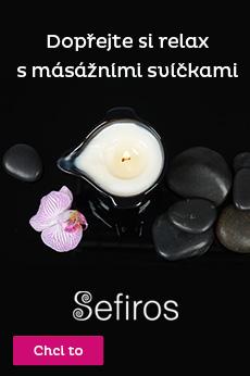 Masážní svíčky Sefiros