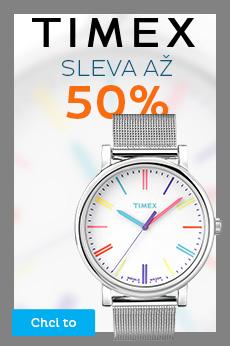 Timex - sleva až 50 %