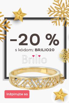 -20 % na šperky Brilio