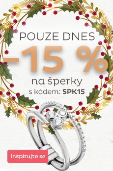 Sleva 15 % na šperky skladem
