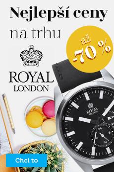 Royal London - sleva až 70 %