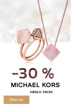 Sleva 30 % na šperky Michael Kors