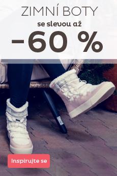 Zimní boty - výprodej