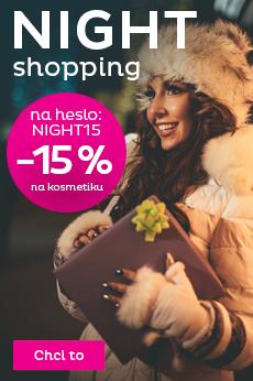 -15 % na veškerou kosmetiku