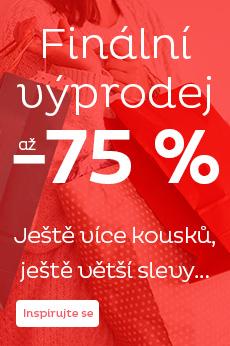 Povánoční výprodej - slevy až 75 %