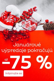Povianočný výpredaj až -75 %
