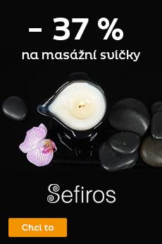 Masážní svíčky Sefiros až -37%