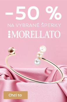 -50 % na vybrané šperky Morellato