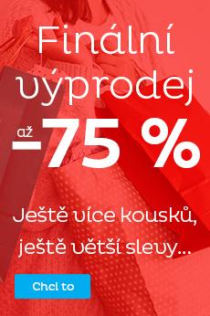 Finální výprodej - sleva až 75 %