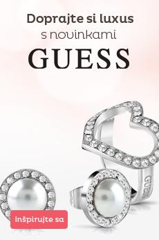 Novinky šperkov Guess