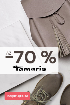 Tamaris se slevou až 70 %