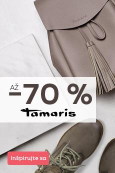 Tamaris so zľavou až 70 %