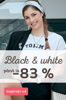 Black & White reducere până la 83 %