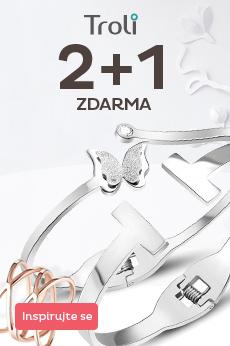 Troli šperky  2 + 1 zdarma