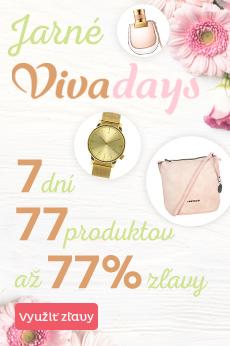 Jarné Vivadays zľavy až 77 %