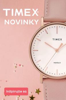 Štýlové novinky Timex