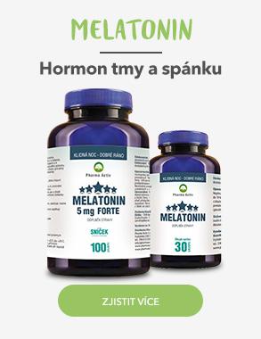 Melatonin - hormon tmy a spánku