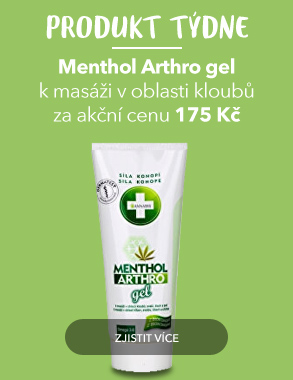 Produkt týdne Menthol Arthro gel