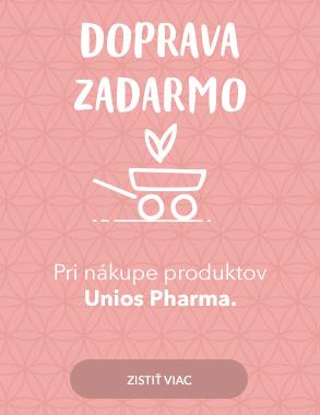 Doprava zadarmo s Unios Pharma