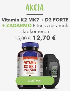 Vitamín K2 MK7 s akčnou cenou