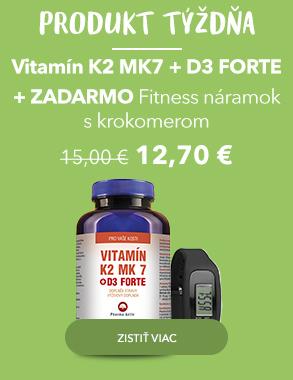 Produkt týždňa Vitamín K2 MK7