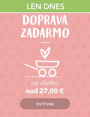 Doprava zadarmo nad 27 EUR