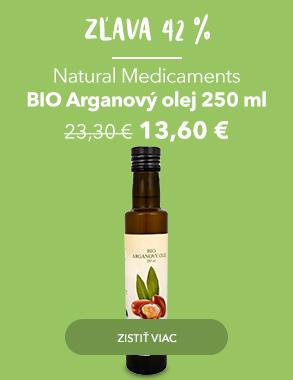 BIO Arganový olej s akčnou cenou