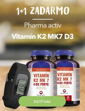 Akcia 1+1 Vitamín K2 MK7
