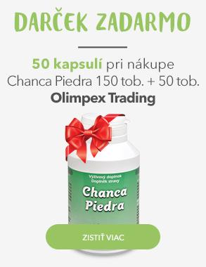 Chanca Piedra + 50 kapsúl zadarmo