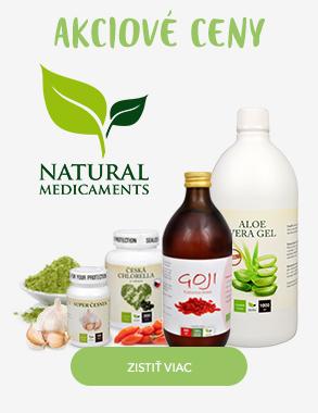 Natural Medicaments akčné ceny