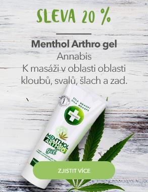Menthol Arthro gel se slevou